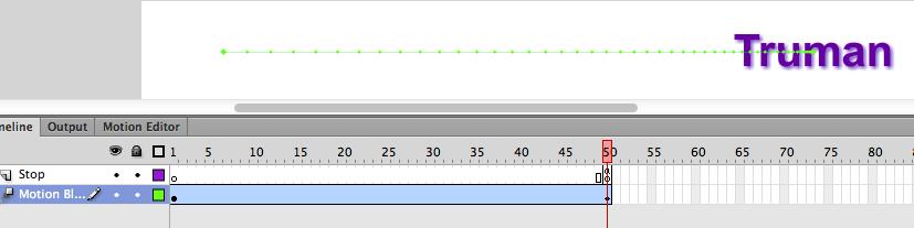 A-341 Demo:Movie Clip Symbol for Motion Blur