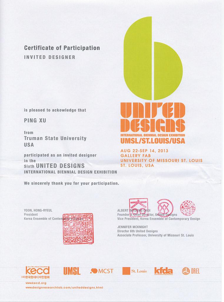 United-Design-Certificate