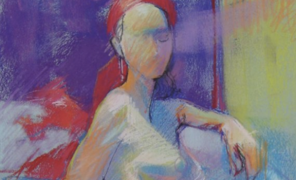 Pastel Nude Examples-1 | Art-202 : Figure Drawing / Fall 2014