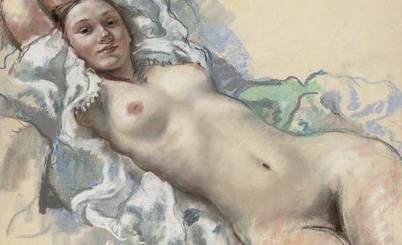 Pastel Nude Examples-2 | Art-202 : Figure Drawing / Fall 2014