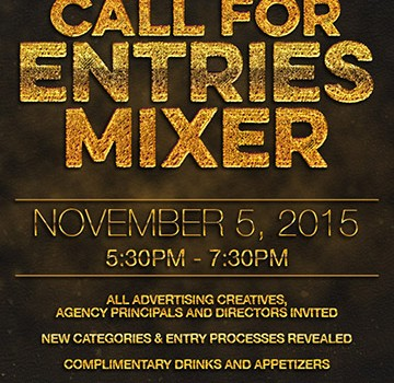 American Advertising Awards 2016 - Call For Entries Mixer