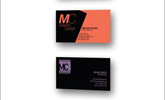 ARTS-3333: Design & Production | Project-1: Business Card Design / Small Format Print Production | Fall 2016 | UTRGV