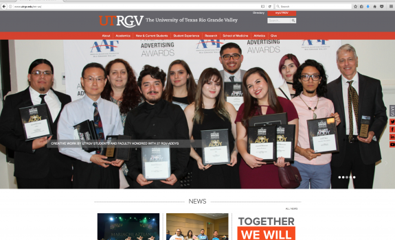 Creative work by UTRGV students and faculty honored with 27 RGV-ADDYs | UTRGV Press Release
