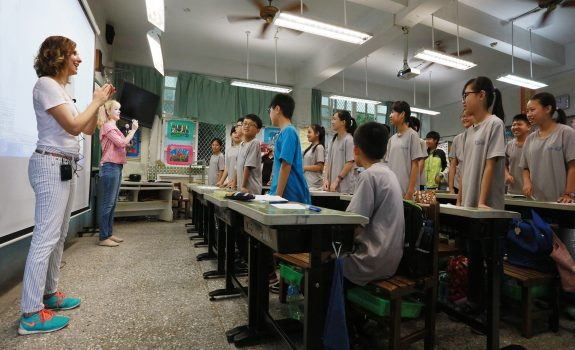 UTRGV Taiwan English Camp 2018 - Volunteer Recruitment | June 30 - July 27, 2018 | Changhua, Taiwan